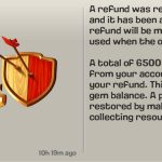 Clash of Clans Gems Negative Balance In Android Phones Possible