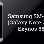 Samsung SM-N935F (Galaxy Note 7) with Exynos 8893 Spotted
