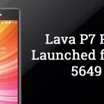 Lava P7 Plus with Android 6.0 Launched in India for Rs. 5649