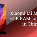 Xiaomi Mi Mix Announced in China with 6GB RAM | Specs and Price